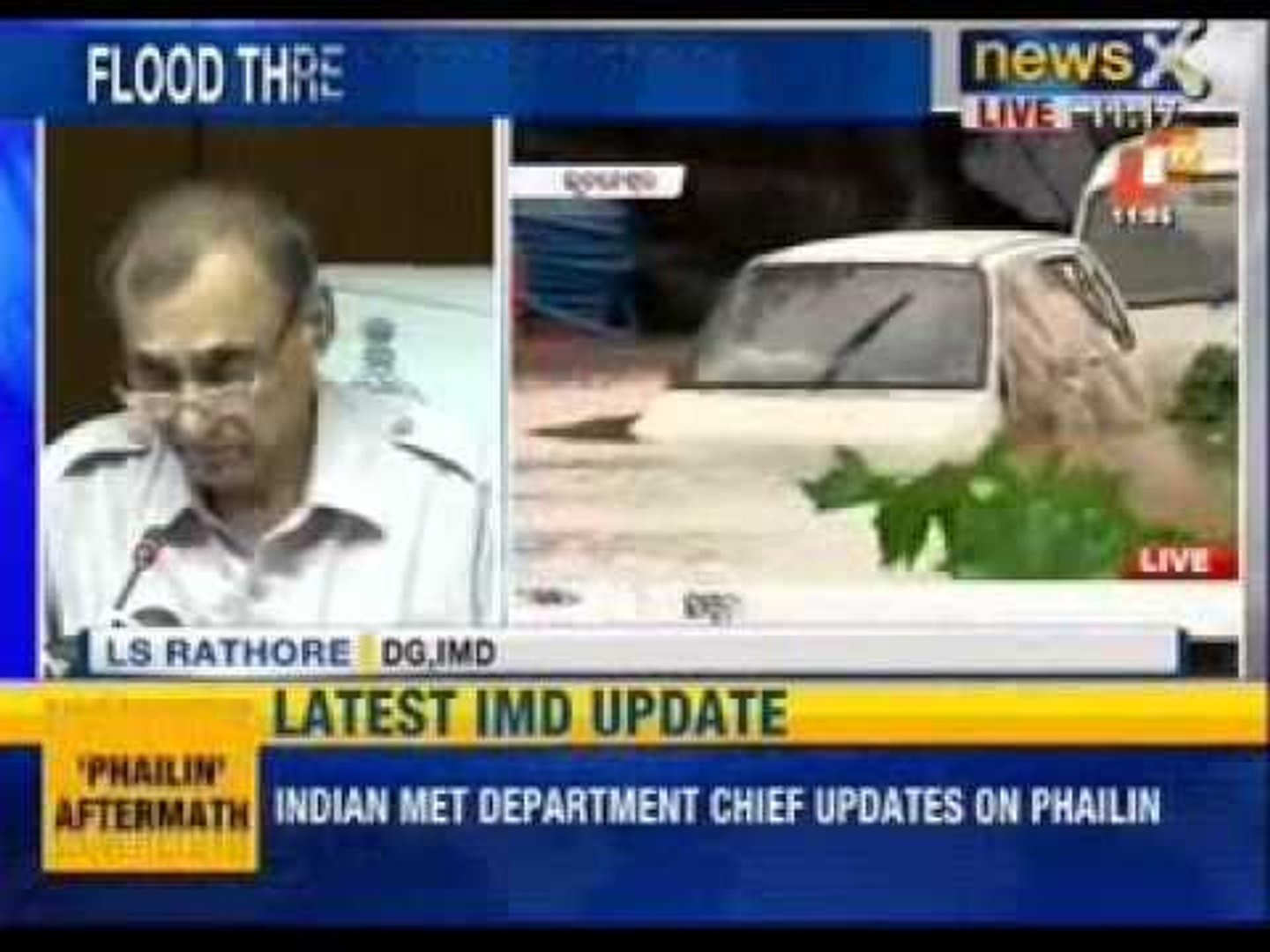 Cyclone Phailin:Phailin is not super cyclone, says Indian Meteorological  Department
