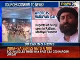 "Gujarat police reaches Agra in Narayan Sai""s search - NewsX"