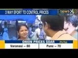 Onion prices rise again, Government may ban onion exports to check price rise - NewsX