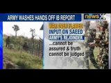 Indian Army-IB clash : Army trashes IB report claiming that ISI officials met terrorists in Lahore