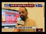 Junior Home Minister Hansraj Ahir speaks to India News over Ramjas College Row