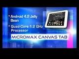 Tech & You : Micromax Canvas Tab