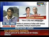 Arun Jaitley hits back at SP leader's objectionable remark on Narendra Modi - NewsX