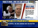 Vegetables prices rose because poor can afford more than 1 vegetable, says Kapil Sibal - News X
