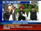 NewsX: Congress attacks AAP over Arvind Kejriwal's demands