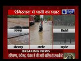 Flood like situation in many parts of Rajasthan due to heavy rainfall