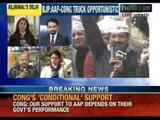 NewsX: Arvind Kejriwal to be sworn as Chief Minister, may take oath at Jantar Mantar