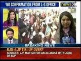 NewsX: Chief secretary comes to visit Arvind Kejriwal