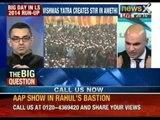 Can AAP leader Kumar Vishwas demolish Rahul in Gandhi bastion?