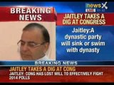 Arun Jaitley takes a dig at Congress - NewsX