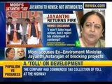 Narendra Modi accuses Ex-environment Minister Jayanthi Natarajan of blocking projects - NewsX