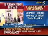 NewsX: Aam Aadmi to Khaas Aadmi - Z Grade security cover for Arvind Kejriwal