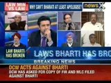 NewsX: Law Minister of Delhi breaks Law, doesn't even apologise for harassing foreign National