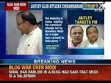 NewsX: Blog war between Arun Jaitley and Chidambaram turn murkier over Narendar Modi