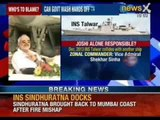 Was Navy Chief Admiral DK Joshi made a scapegoat ?