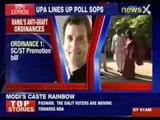 Rahul Gandhi's anti graft bills : Special category status for Seemandhra