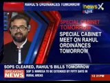 Special Cabinet meet on Rahul's ordinances tomorrow