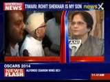 ND Tiwari accepts Rohit Shekhar as son after a six-year legal battle