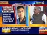 Pawan Bansal breaks silence first on NewsX