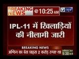 IPL-11 में खिलाड़ियों की नीलामी जारी; हैदराबाद ने शिखर धवन को 5.20 करोड़ में खरीदा