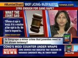 Speak out India: Can justice be done when minors committing adult crimes go scot free ?