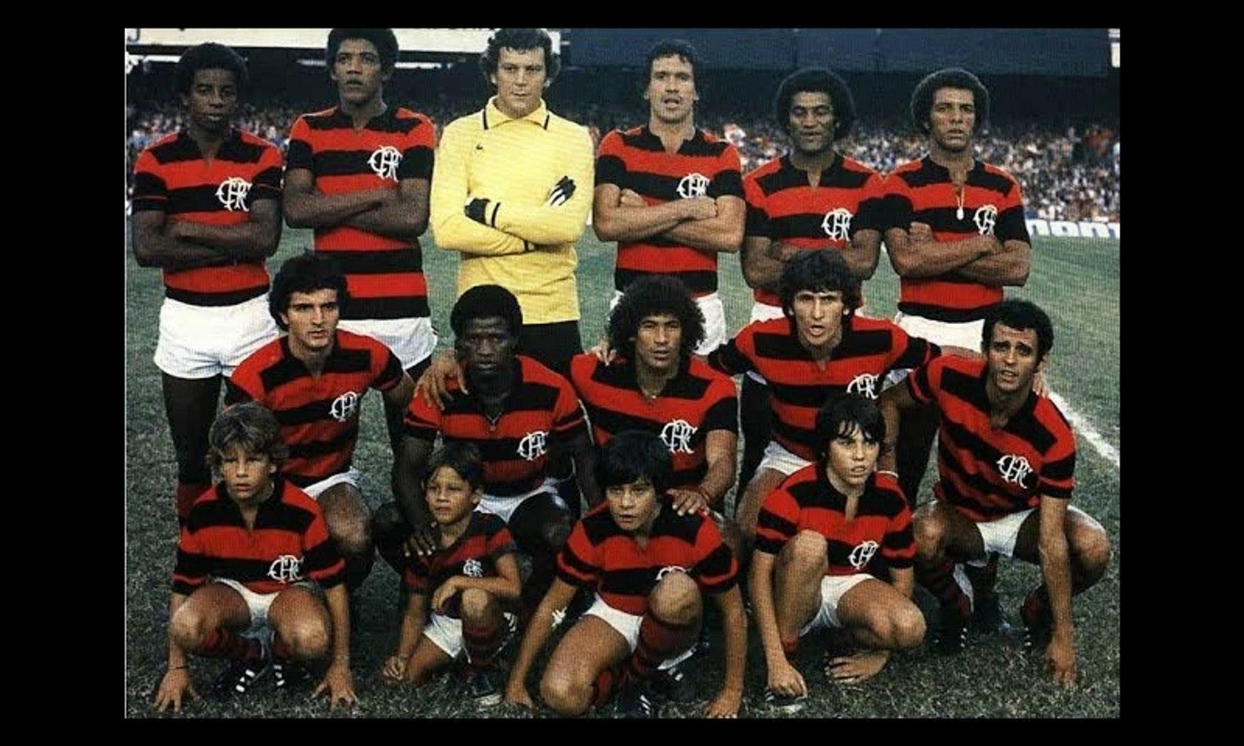 Campanha Brasileirão 1980 - Flamengo Campeão Brasileiro !