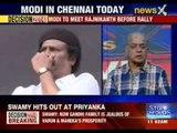 Narendra Modi seeks Rajnikanth's poll blessings
