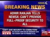 MoS railways Adhir Ranjan speaks to NewsX