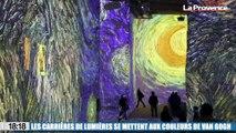 Le 18:18 : découvrez l'exposition Van Gogh dans les Carrières de lumières des Baux-de-Provence