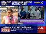 ESL Narasimhan takes oath as Telangana Governor