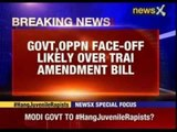 Govt, Opposition face-off likely over TRAI Amendment Bill