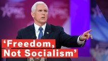 Mike Pence Says Freedom, Not Socialism, Ended Slavery, Doesnt Mention What Started Slavery