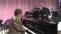 Elton John and 'Rocketman' Star Taron Egerton Sing Tiny Dancer