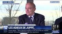 """Les adieux d'Alain Juppé à la ville de Bordeaux:  """"Au moment où je vous parle, je suis en vacances"""""""