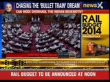 Rail Budget to be announced at noon