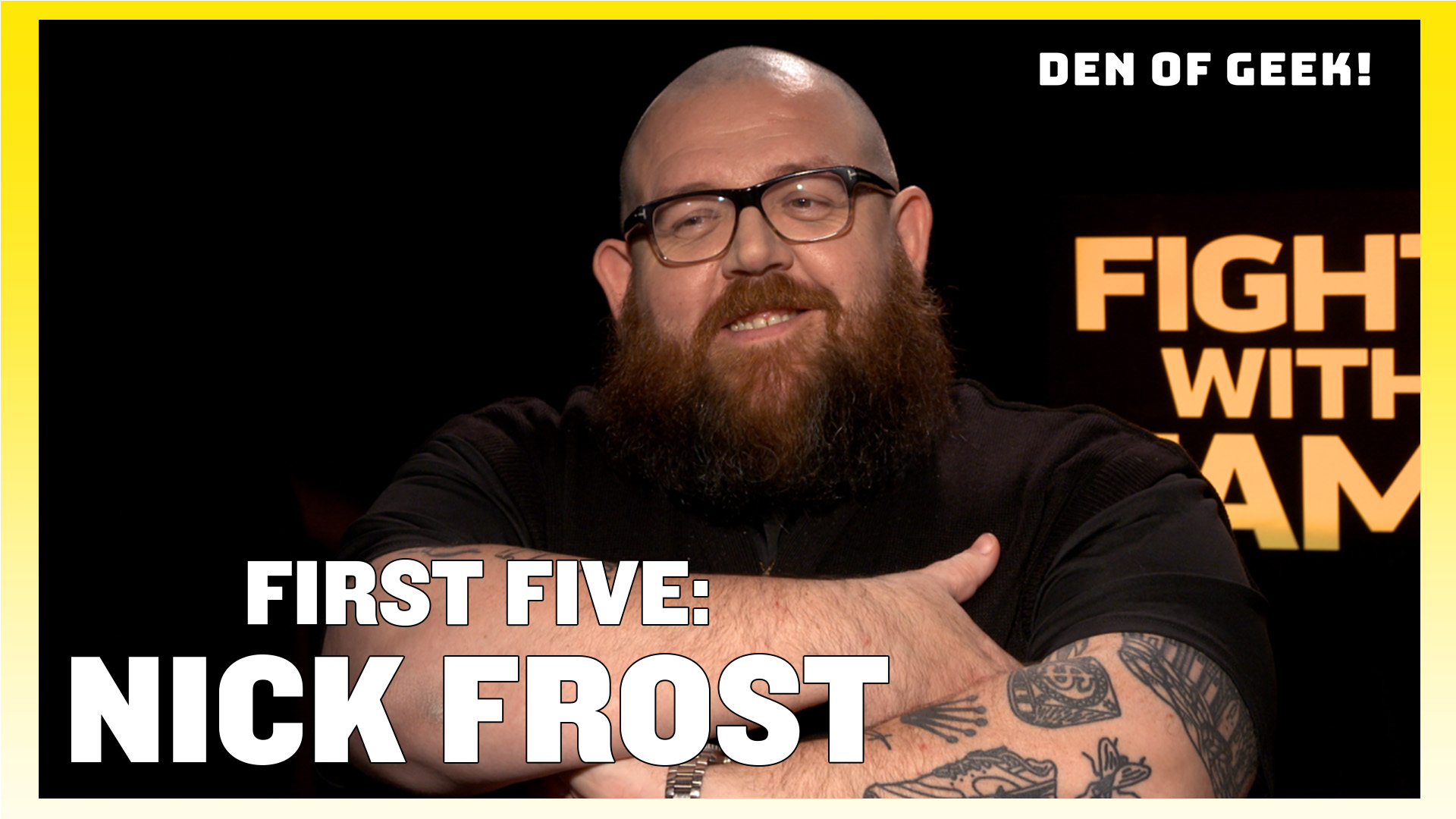 Can Nick Frost Name His First Five Film Credits?