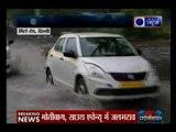 Delhi-NCR में लगातार 2 दिन से रुक-रुक कर हो रही बारिश से लोग बेहाल