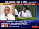 Uproar in both the houses over Justice Markandey Katju's claim