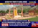 India pays homage to Kargil war heroes