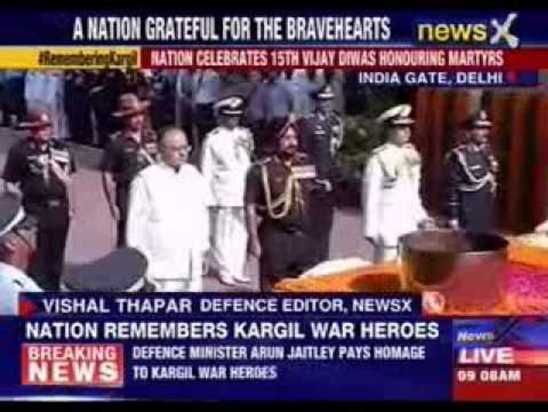 Arun Jaitley pays homage to kargil war heroes