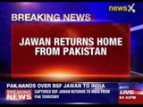 Pakistan hands over captured BSF jawan to India