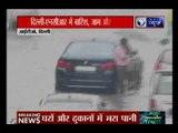 दिल्ली-NCR में सितम्बर की पहली बारिश से बेहाल दिल्ली, हलकी बारिश से थमा ट्रैफिक