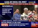 SC gives CBI director notice for removal from coal scam probe
