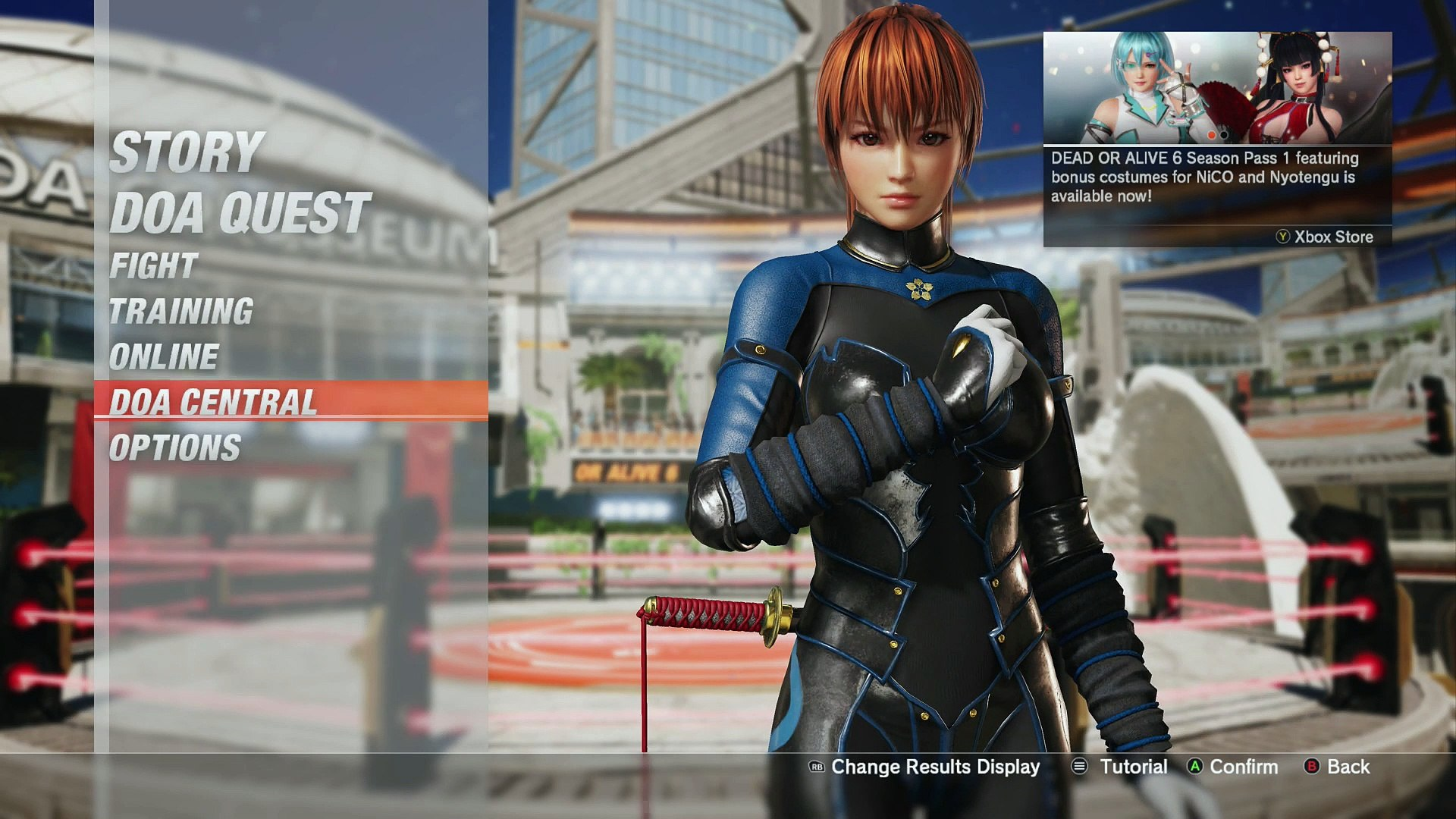 Dead or Alive 6 the afterimage ~club mix~