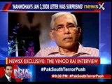 NewsX Exclusive: The Vinod Rai interview