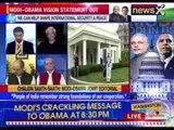 #ModiInUS: Bilateral talk between India and US begins at the White house, Washington