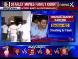Actress moves family court, Karthik Gowda in trouble