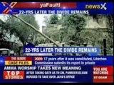 #AyodhyaFaultline:  22nd anniversary of the demolition of Babri Masjid in Ayodhya.