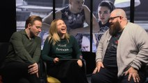 Nick Frost and the 'Fighting With my Family' cast put their wrestling knowledge to the test