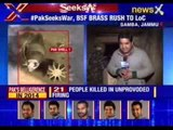 Pakistan violates ceasefire again in Samba Sector